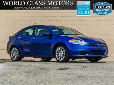 2013 Dodge Dart for sale at World Class Motors LLC in Noblesville IN