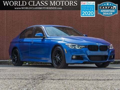 2016 BMW 3 Series for sale at World Class Motors LLC in Noblesville IN