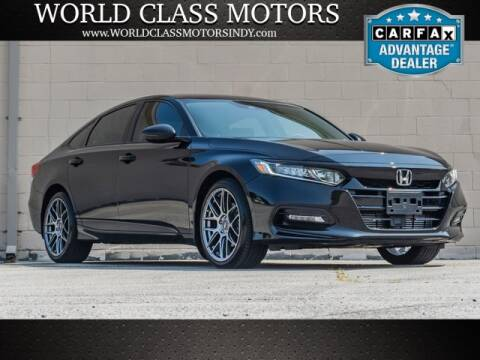 2018 Honda Accord for sale at World Class Motors LLC in Noblesville IN