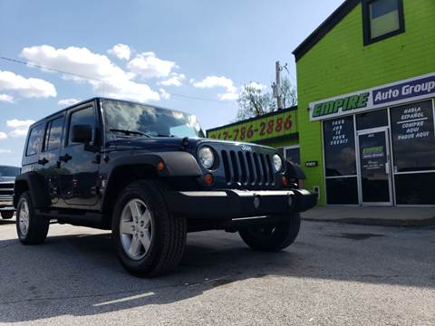 2008 Jeep Wrangler Unlimited for sale in Indianapolis, IN