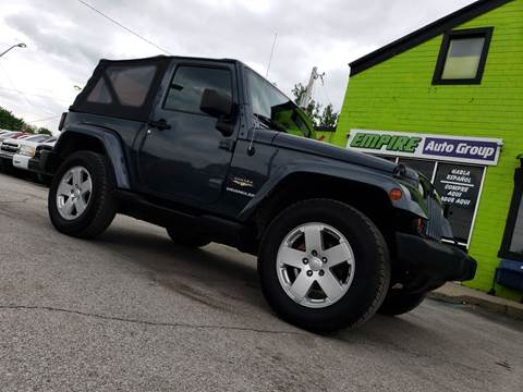 2007 Jeep Wrangler for sale in Indianapolis, IN