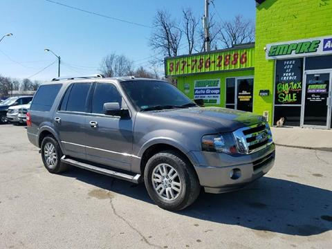 2014 Ford Expedition for sale at Empire Auto Group in Indianapolis IN