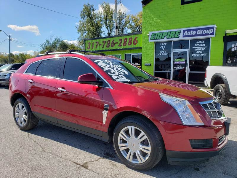 2012 Cadillac SRX for sale at Empire Auto Group in Indianapolis IN