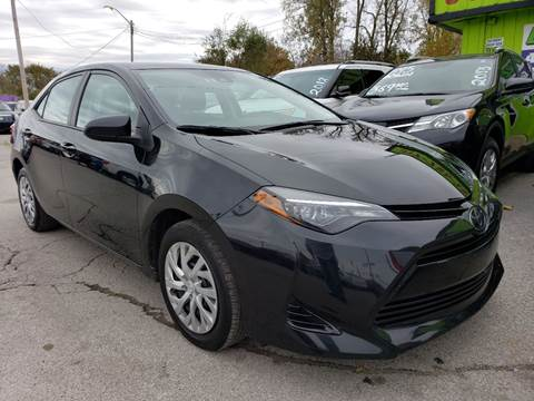 2018 Toyota Corolla for sale at Empire Auto Group in Indianapolis IN