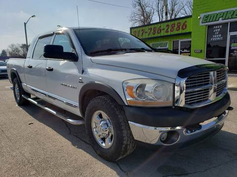 2006 Dodge Ram Pickup 2500 for sale at Empire Auto Group in Indianapolis IN