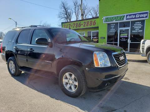 2011 GMC Yukon for sale at Empire Auto Group in Indianapolis IN
