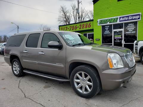 2011 GMC Yukon XL for sale at Empire Auto Group in Indianapolis IN