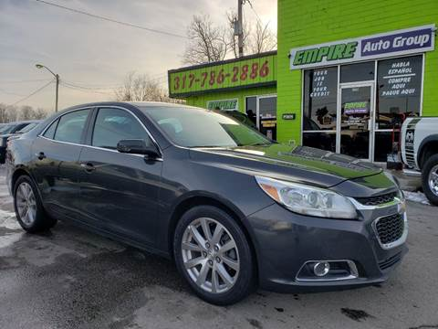 2014 Chevrolet Malibu for sale at Empire Auto Group in Indianapolis IN