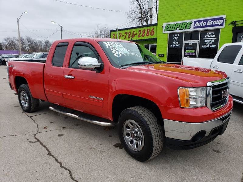 2011 GMC Sierra 1500 for sale at Empire Auto Group in Indianapolis IN