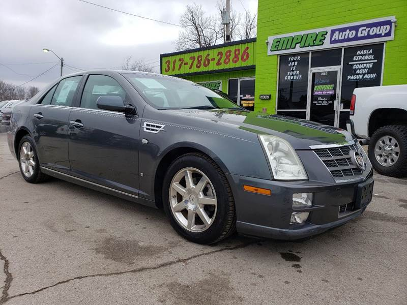 2008 Cadillac STS for sale at Empire Auto Group in Indianapolis IN