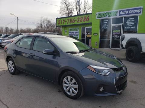 2016 Toyota Corolla for sale at Empire Auto Group in Indianapolis IN