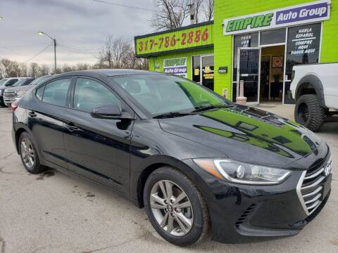 2018 Hyundai Elantra for sale at Empire Auto Group in Indianapolis IN
