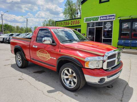 2002 Dodge Ram Pickup 1500 for sale at Empire Auto Group in Indianapolis IN