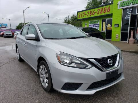 2017 Nissan Sentra for sale at Empire Auto Group in Indianapolis IN