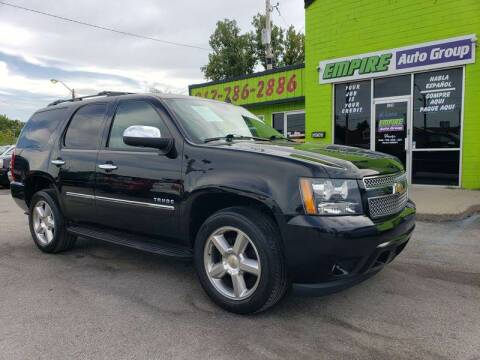 2011 Chevrolet Tahoe for sale at Empire Auto Group in Indianapolis IN