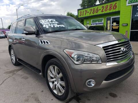 2014 Infiniti QX80 for sale at Empire Auto Group in Indianapolis IN