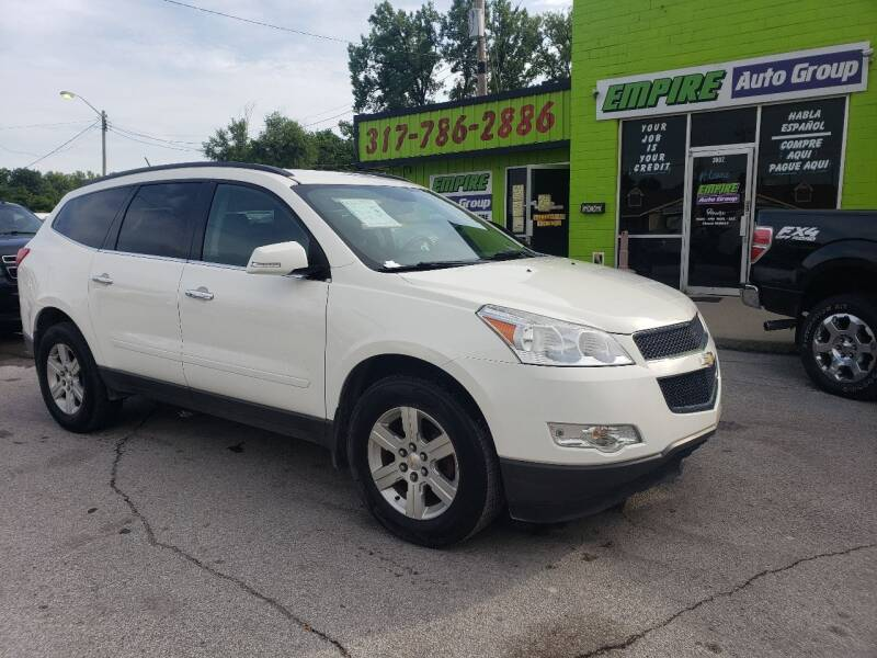 2012 Chevrolet Traverse for sale at Empire Auto Group in Indianapolis IN