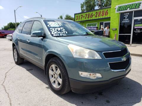 2009 Chevrolet Traverse for sale at Empire Auto Group in Indianapolis IN