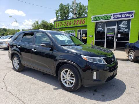 2014 Kia Sorento for sale at Empire Auto Group in Indianapolis IN
