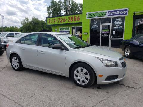 2014 Chevrolet Cruze for sale at Empire Auto Group in Indianapolis IN