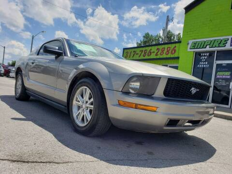 2008 Ford Mustang for sale at Empire Auto Group in Indianapolis IN