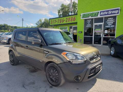 2013 Kia Soul for sale at Empire Auto Group in Indianapolis IN