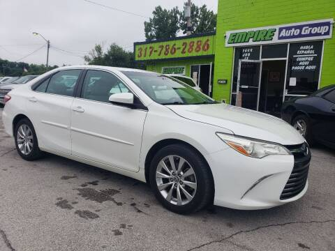 2016 Toyota Camry for sale at Empire Auto Group in Indianapolis IN