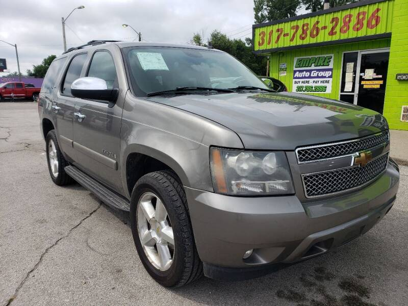 2007 Chevrolet Tahoe for sale at Empire Auto Group in Indianapolis IN