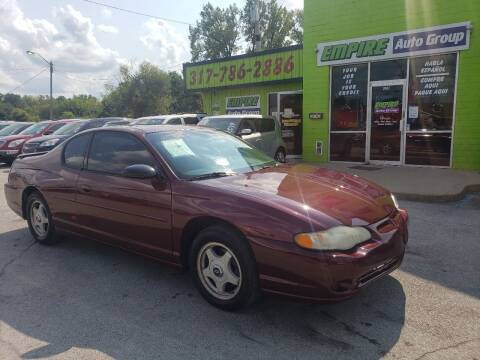 2000 Chevrolet Monte Carlo for sale at Empire Auto Group in Indianapolis IN