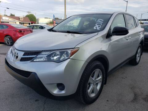 2015 Toyota RAV4 for sale at Empire Auto Group in Indianapolis IN