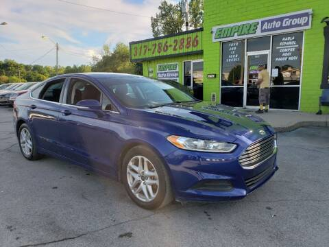 2016 Ford Fusion for sale at Empire Auto Group in Indianapolis IN