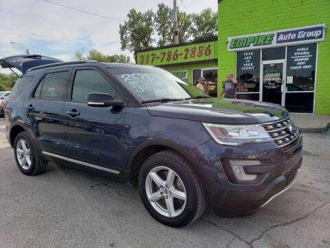 2016 Ford Explorer for sale at Empire Auto Group in Indianapolis IN