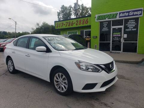 2019 Nissan Sentra for sale at Empire Auto Group in Indianapolis IN