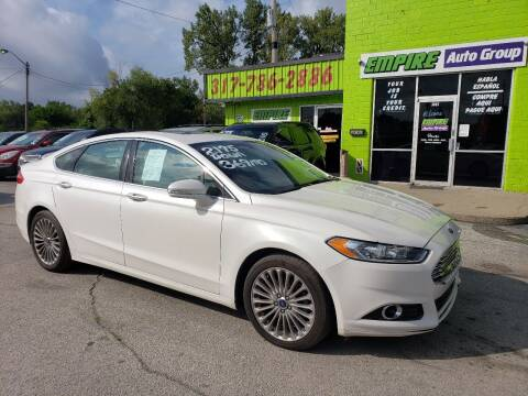 2015 Ford Fusion for sale at Empire Auto Group in Indianapolis IN