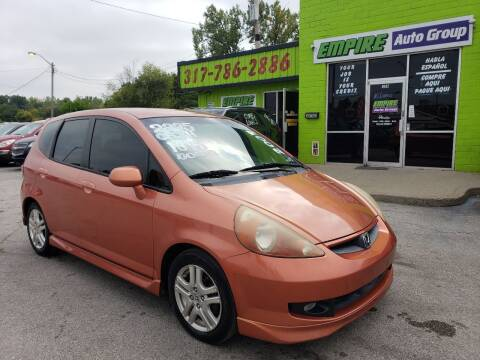 2007 Honda Fit for sale at Empire Auto Group in Indianapolis IN