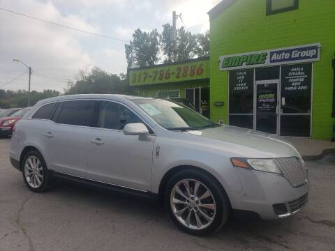 2011 Lincoln MKT for sale at Empire Auto Group in Indianapolis IN