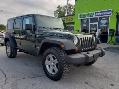2010 Jeep Wrangler Unlimited for sale at Empire Auto Group in Indianapolis IN