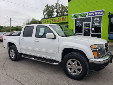 2012 GMC Canyon for sale at Empire Auto Group in Indianapolis IN