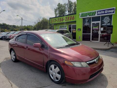 2007 Honda Civic for sale at Empire Auto Group in Indianapolis IN