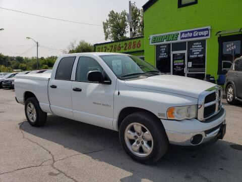 2005 Dodge Ram Pickup 1500 for sale at Empire Auto Group in Indianapolis IN