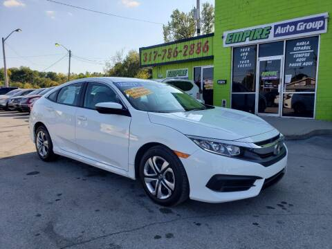 2017 Honda Civic for sale at Empire Auto Group in Indianapolis IN