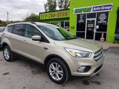 2018 Ford Escape for sale at Empire Auto Group in Indianapolis IN