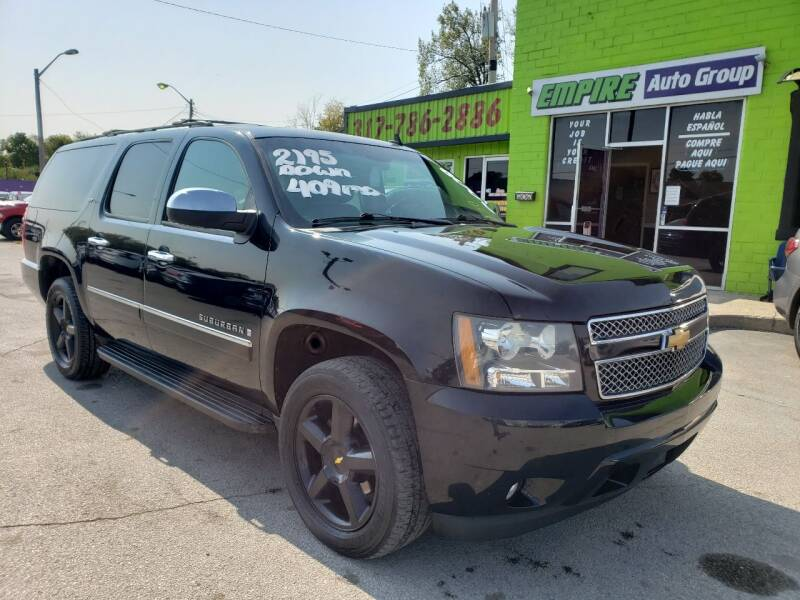 2009 Chevrolet Suburban for sale at Empire Auto Group in Indianapolis IN