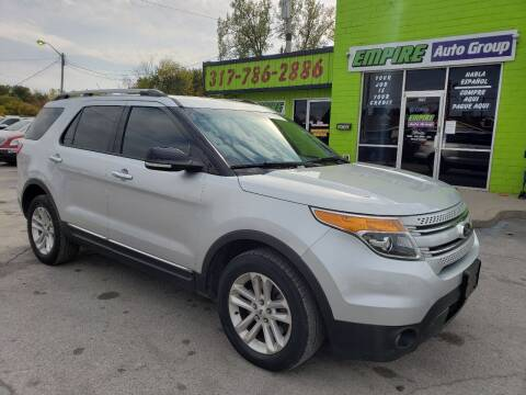 2014 Ford Explorer for sale at Empire Auto Group in Indianapolis IN