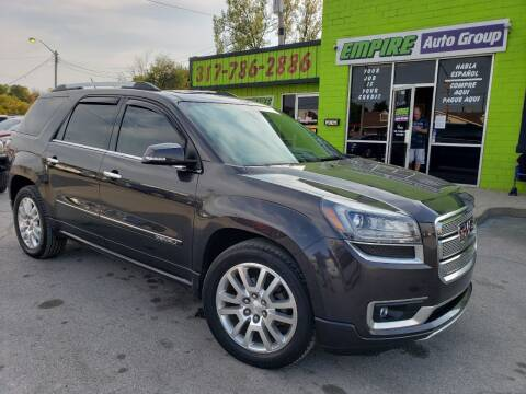 2015 GMC Acadia for sale at Empire Auto Group in Indianapolis IN