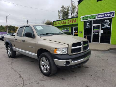 2003 Dodge Ram Pickup 1500 for sale at Empire Auto Group in Indianapolis IN