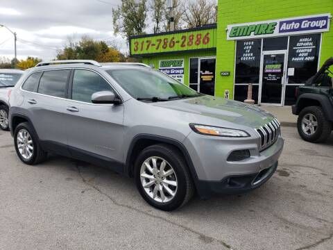 2015 Jeep Cherokee for sale at Empire Auto Group in Indianapolis IN