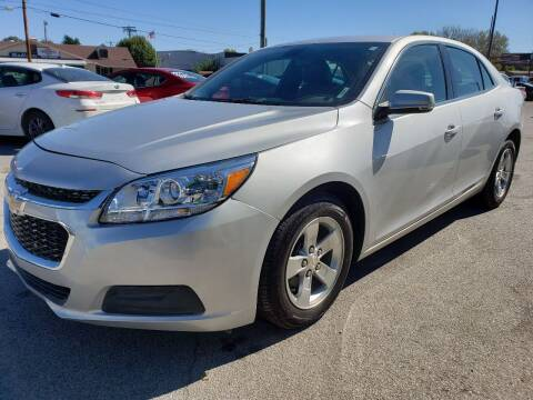 2015 Chevrolet Malibu for sale at Empire Auto Group in Indianapolis IN