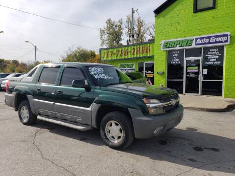 2002 Chevrolet Avalanche for sale at Empire Auto Group in Indianapolis IN
