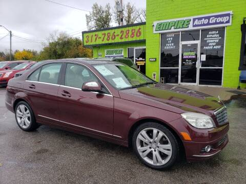 2008 Mercedes-Benz C-Class for sale at Empire Auto Group in Indianapolis IN